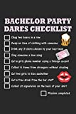 Bachelor Party Dares Checklist: Bachelor Party Dot Grid Journal, Diary, Notebook 6 x 9 inches with 120 Pages