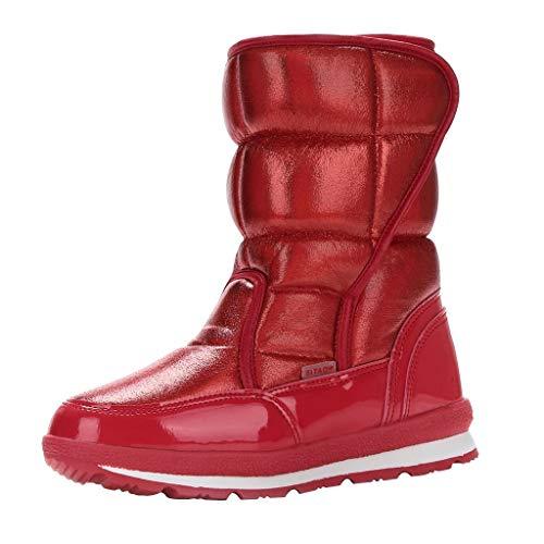 Amlaiworld Botas de Nieve para Mujer Plataforma Impermeable Zapatos de Invierno Más...
