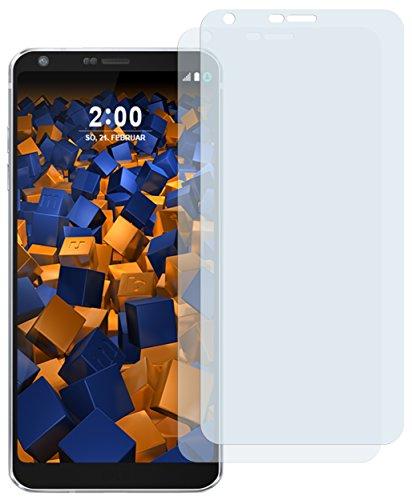 mumbi Schutzfolie kompatibel mit LG G6 Folie klar, Bildschirmschutzfolie (2X)