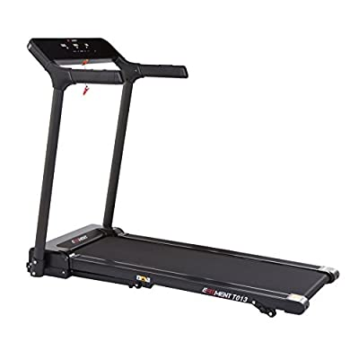 EFITMENT Slimline Motorized Treadmill with Bluetooth, Folding and Incline for Running