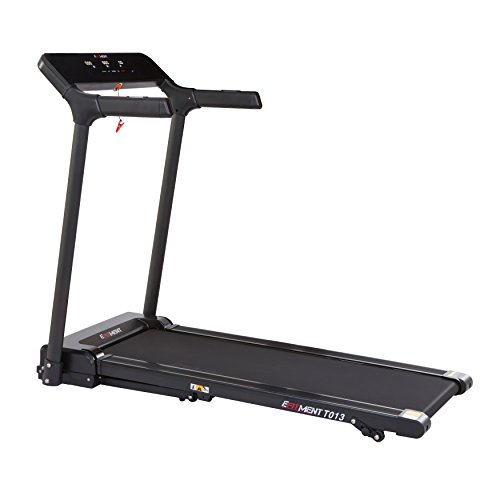 EFITMENT Slimline Motorized Treadmill with Bluetooth, Folding and Incline for Running (Slimline)