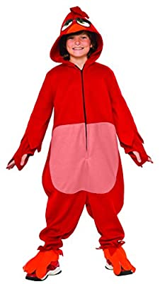 Rubie's Costume Kids Angry Birds Movie Costume, Red, Large