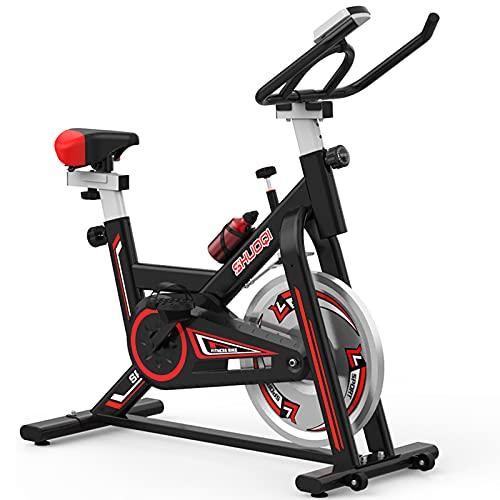HSTG Bici da Palestra Domestica, con Cornice di Fissaggio Bici da Interno, Attrezzature per Il Fitness Pesante, Duty Pesi per la Perdita di Peso, Esercizio Interno