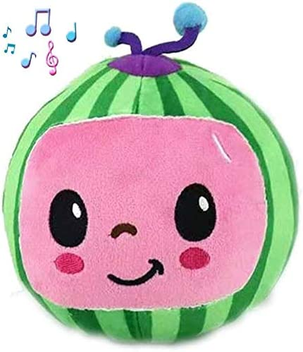 Cocomelon JJ Plush Doll Bedtime Singing Toy Educational Toy Soft Doll Cocomelon Music Watermelon product image
