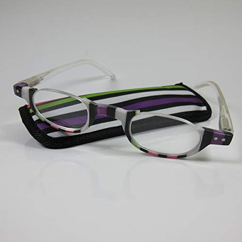 KOST Moderne halbrahmen Lesebrille +3,5 Design2 Fertigbrille Flexbügel SIE & IHN