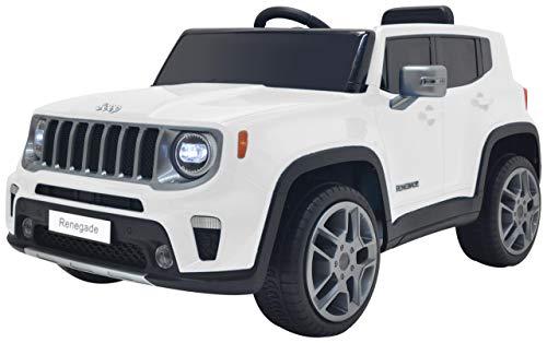 Colibrì Jeep Renegade White 12V RADIOCOMANDO