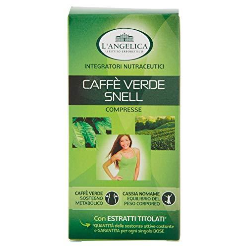 L'Angelica Integatore Alimentare Caffè Verde Snell, 24g