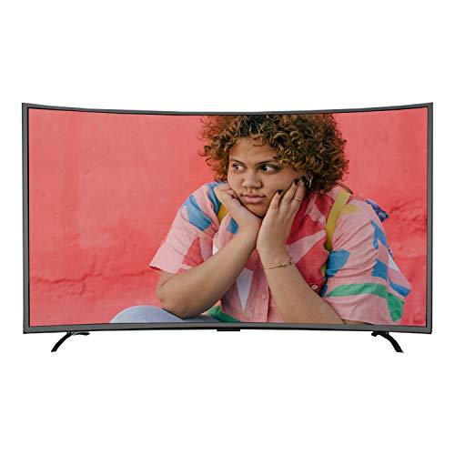 GXFCH SHOP Ultra HD Smart Network TV, TV LCD Curvado se Puede Utilizar para teléfono móvil, proyección de Pantalla de tabletas,32inch