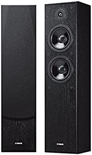 YAMAHA 雅马哈 NS-F51 落地式音箱 家庭影院音箱 黑色 (亚马逊自营商品, 由供应商配送)