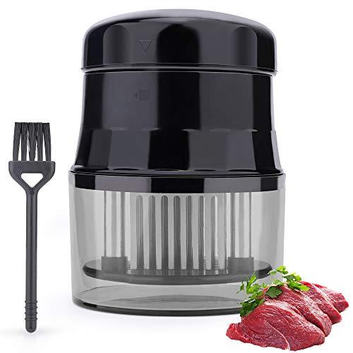 Fleischzartmacher, Fleisch Fleischklopfer 56 Edelstahl Klingen, Professionelle Küche Kochwerkzeug,Werkzeug für Rindfleisch, Steak, Huhn