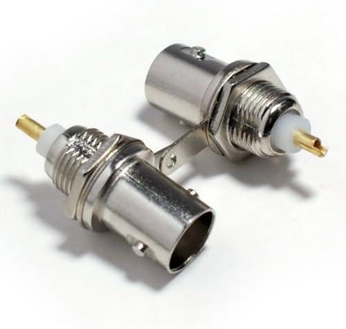 Davitu 100PCS BNC Female Socket Regular discount Adapter Connectors Jack [Alternative dealer] C Solder