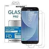 NOVAGO Compatible avec Samsung Galaxy J3 2017 J3 Pro J330 -Lot de 2 Films Protection écran en Verre...