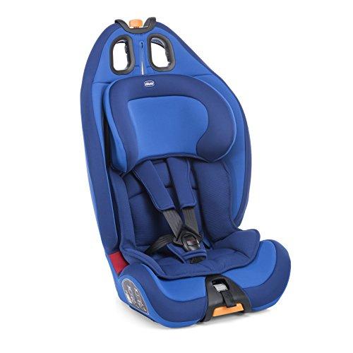 Chicco Kinderautositz Gro-Up, Größe1/2/3, Power Blue