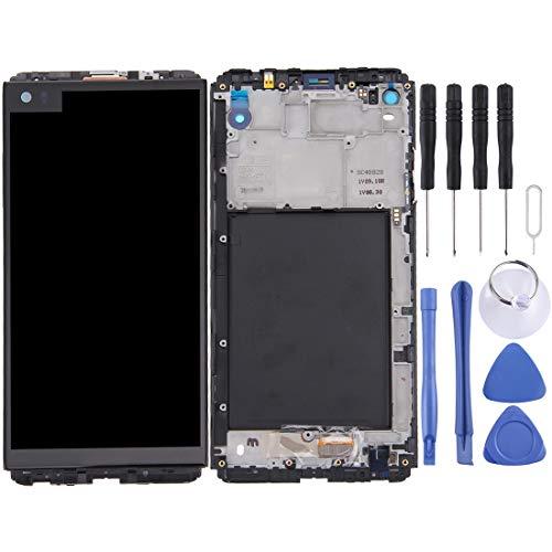 Pantalla LCD Pantalla LCD y digitalizador Conjunto completo con marco para LG V20 VH990, H918, H910, LS997, US996, VS995, F800L, F800S, F800K, H915, H910PR Piezas de repuesto del teléfono
