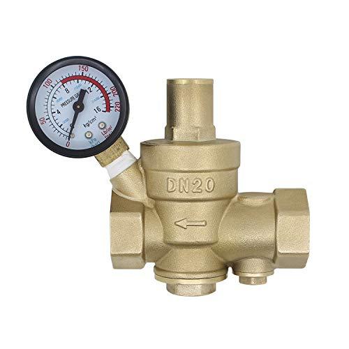Wasserdruckminderer mit filter austauschbar 1/2 3/4 1 1-1/4 1-1/2 2 zoll - wasserdruckminderer mit manometer (DN25-1 zoll)