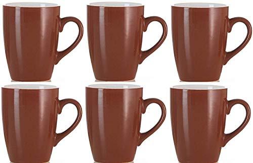 6er Set Ritzenhoff & Breker Braun Kaffeebecher Teetassen Heiße Schokolade Becher 300ml