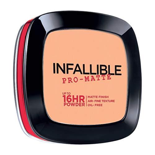 L'Oreal Paris Infallible Pro-Matte Powder, 300 Nude Beige, 0.31 Ounce