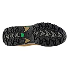 Full lace-up front . Shaped and padded ankle . Cushioned insole . Weathertite and Breathable membrane . Mesh Panels . Hard-wearing sole. Deep ridge grip . Heel and tongue pull loops . Molded sole. Frame Flex Chassis. Dynagrip MT007 sole unit. Upper: ...
