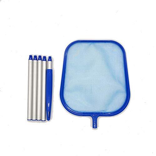 ZSM Pool Reinigung Nets Fine Mesh Wasserbehandlung Komplett Accessory Kit for Schwimmbad Planschbecken Jacuzzi Teich Kescher for einen Pool, 1PCS YMIK