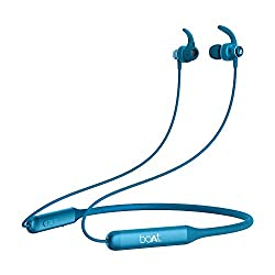 boAt Rockerz 335 Wireless Neckband with ASAP Charge, Up to 30H Playback, Qualcomm® aptX™ & CVC™, Enhanced Bass, Metal Control Board, IPX5, Type C Port, Bluetooth v5.0, Voice Assistant(Ocean Blue),Imagine Marketing Pvt Ltd,Rockerz 335
