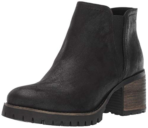 Carlos by Carlos Santana Women's GILL Ankle Boot, BLACK, 7 Medium US