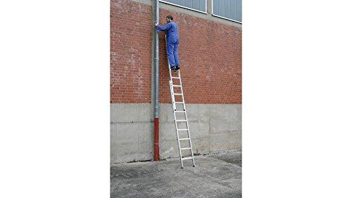 STABILO PROFESSIONAL Schiebeleiter STABILO, mit bis zu 2x18 Sprossen 2x9