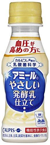 カルピス アミール やさしい発酵乳仕立て 100ml×30本入×2ケース 60本
