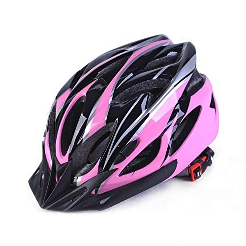 IAMZHL Mountain Offroad Fahrradhelm Leicht atmungsaktiver Unisex Verstellbarer Kopfschutz Fahrradhelm Fahrradhelme-Pink-b9