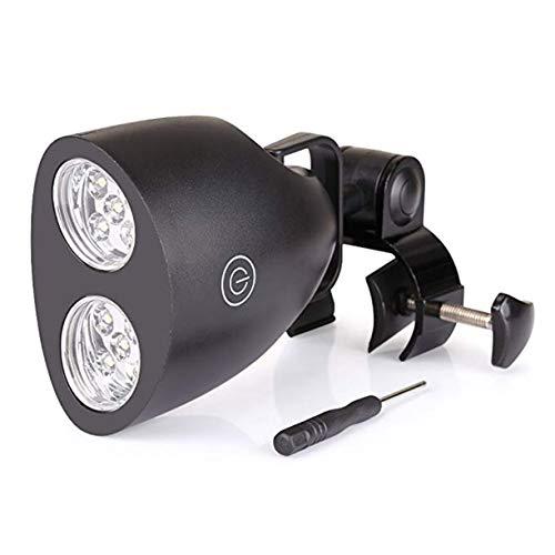 Sagladiolus Super Helligkeit einstellbar hell Grill Grill Lichtgriff Montage Outdoor Camp LED-Licht Lampe Leicht zu tragen Schwarz