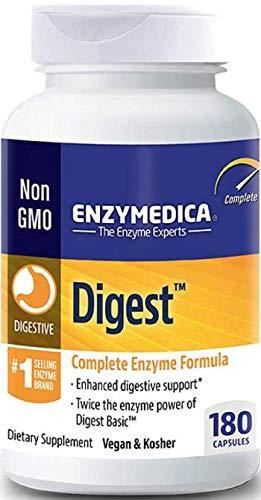 Enzymedica Digest 180 - pflanzenbasierte Verdauungsenzyme - Vegan und Kosher
