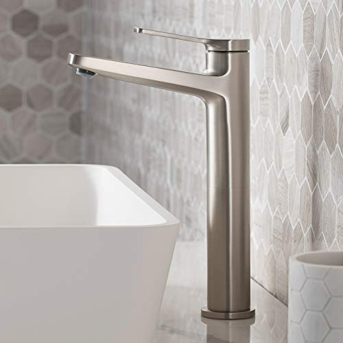 Kraus KVF-1400SFS Indy Single Handle Vessel Bathroom Faucet, Spot Free Stainless Steel