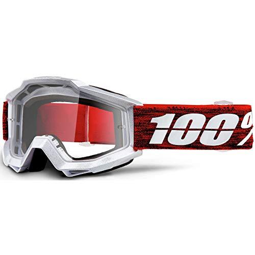 Unbekannt 100% Herren Accuri Clear Lens Motocross/Cycling Goggles Einheitsgröße Graham