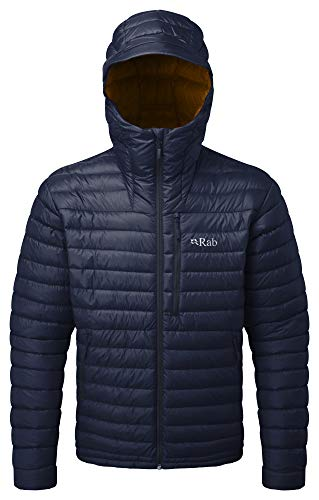 RAB Microlight Alpine Jacke Herren deep Ink/Footprint Größe XL 2019 Funktionsjacke