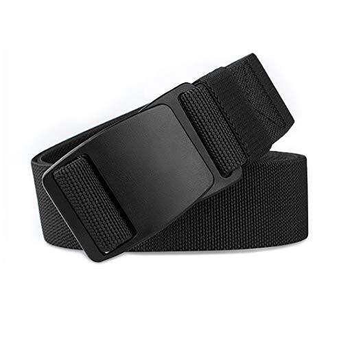 WYuZe Elastic Stretch Belt Invisible Flat Plastic Buckle Jeans Waist Belt No Show