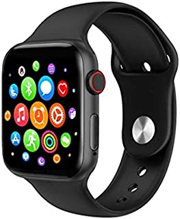 K90 Smart Watch Full Touch Screen, Massages & Calls Compatible with Android and iOS Black Color