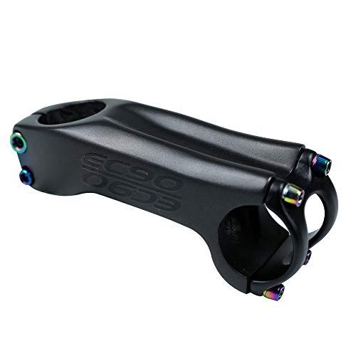 Attacco Manubrio,Attacco Manubrio MTB,Attacco Manubrio Bici,Attacco Manubrio BMX,Fibra di Carbonio Attacco Manubrio in 6/17 Gradi 28.6mm-31.8mm Mountain Bike,Bici da Strada,Bici da Corsa,17°,70mm
