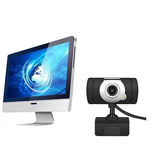 Le Touch Webcam HD con Microfono Videocamera per Videocamere per Laptop Desktop Computer Web Cam per Streaming