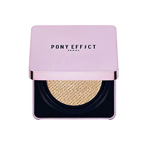 PONY EFFECT Glow Stay Cushion Foundation + Refill (004 TAN)