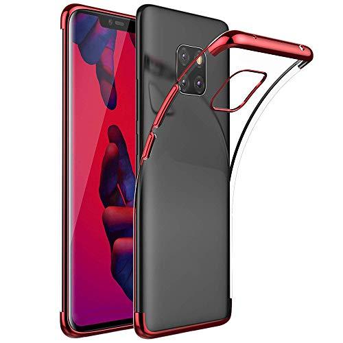 Momoxi Phone Accessory Huawei Handyhülle Handy-Zubehör Für Huawei Mate 20 Pro Luxury Ultra Slim Silikon Durchsichtig Hülle 6,39 Zoll lite hülle