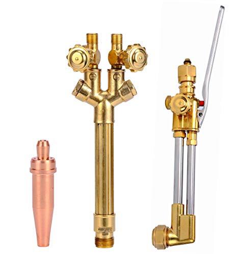 Cutting Torch, Victor Type Heavy Duty Oxygen/Acetylene Welding Torch Tool (300 series)