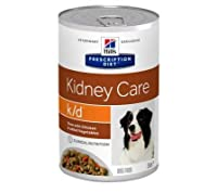 Hill's Prescription Diet Canine k/d Kidney Care Stew - Chicken 12 x 354g is a dietetic wet food for adult dogs For dogs suffering with kidney problems Supports kidney and heart function Tailored content of high-quality protein can help maintain muscl...