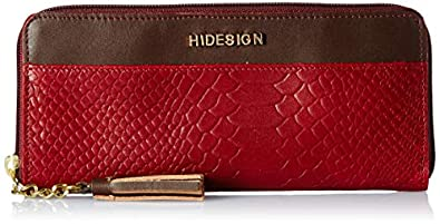 Hidesign Red Leather Women's Wallet (8903439770815)