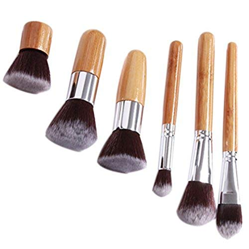 Mvude Ensemble de pinceaux de Maquillage pour Le Visage Premium Synthetic Foundation Powder Blending Cosmetic Brushes