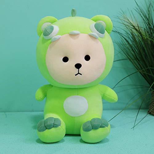 CPFYZH Oso transformado Peluche de Juguete Muñeca Red Bear Bear Bear Pillow Event Gift-Emerald Green_45Cm,