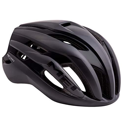 MET Trenta - Casco de Bicicleta - Negro Contorno de la Cabeza...