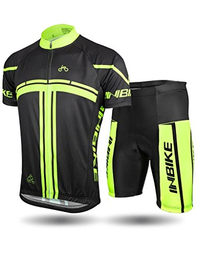 INBIKE Cycling Jersey Men Set Sh...