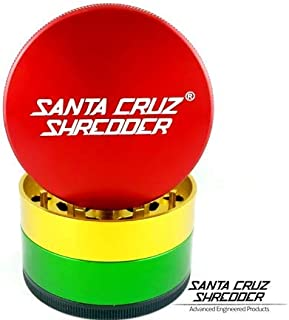 Santa Cruz Shredder Herb Grinder 4 Piece Large 2 3/4
