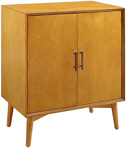 Crosley Furniture CF4403-AC Landon Mid-Century Modern Bar Cabinet, Acorn