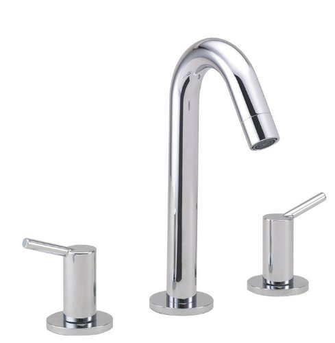 hansgrohe Talis S Modern Timeless Easy Clean 2-Handle 10-inch Tall Bathroom Sink Faucet in Chrome, 32310001