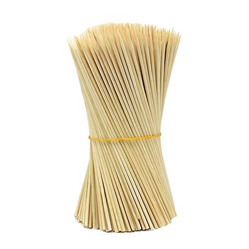N-K 1 juego de 90 pinchos de madera de bambú para barbacoa, fruta, barbacoa, barbacoa, fiesta, 15 cm, cómodos y prácticos